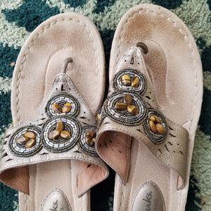 Clarks Artisan leather sandals